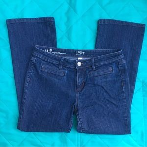 Loft original bootcut jeans - petite
